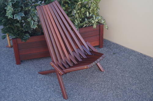pearlers chair timber outdoor furniture perth
