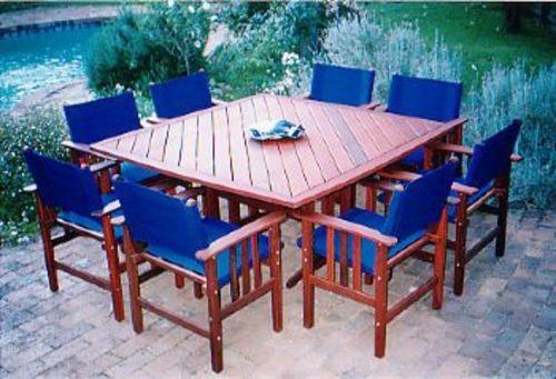 Washington table timber outdoor furniture perth for Outdoor furniture perth