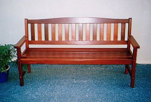 Wakefield Bench Timber Outdoor Furniture Perth